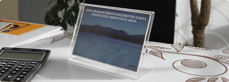 portafoto plexiglass da tavolo