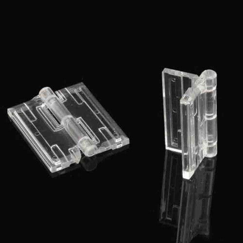 Transparent Plex Hinges
