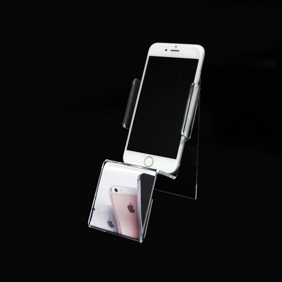 Soporte para teléfono móvil acrílico (tamaño grande)